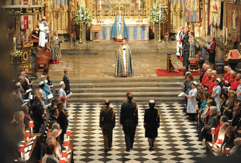Westminster Abbey Procession