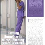 nurse coach battling burnout