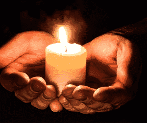 The Gift Of Pause With A Candle