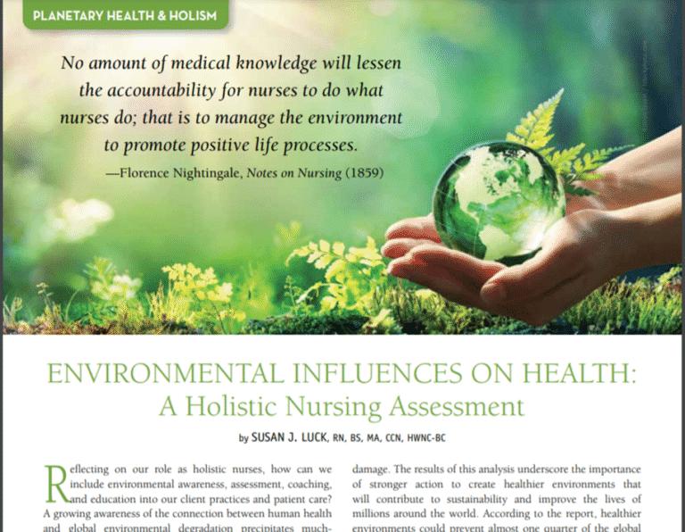 Environment Article Beginnings 2021