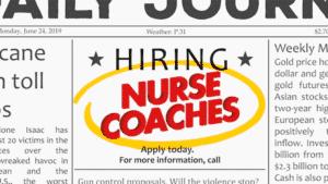 Now Hiring Nurse Coaches