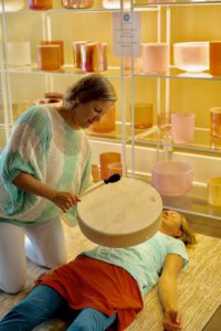 Michele and sound healing