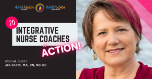 Jan Booth Integrative Nurse Coach™ In Action